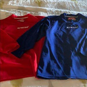 CCM Kids L-XL Hockey Jerseys